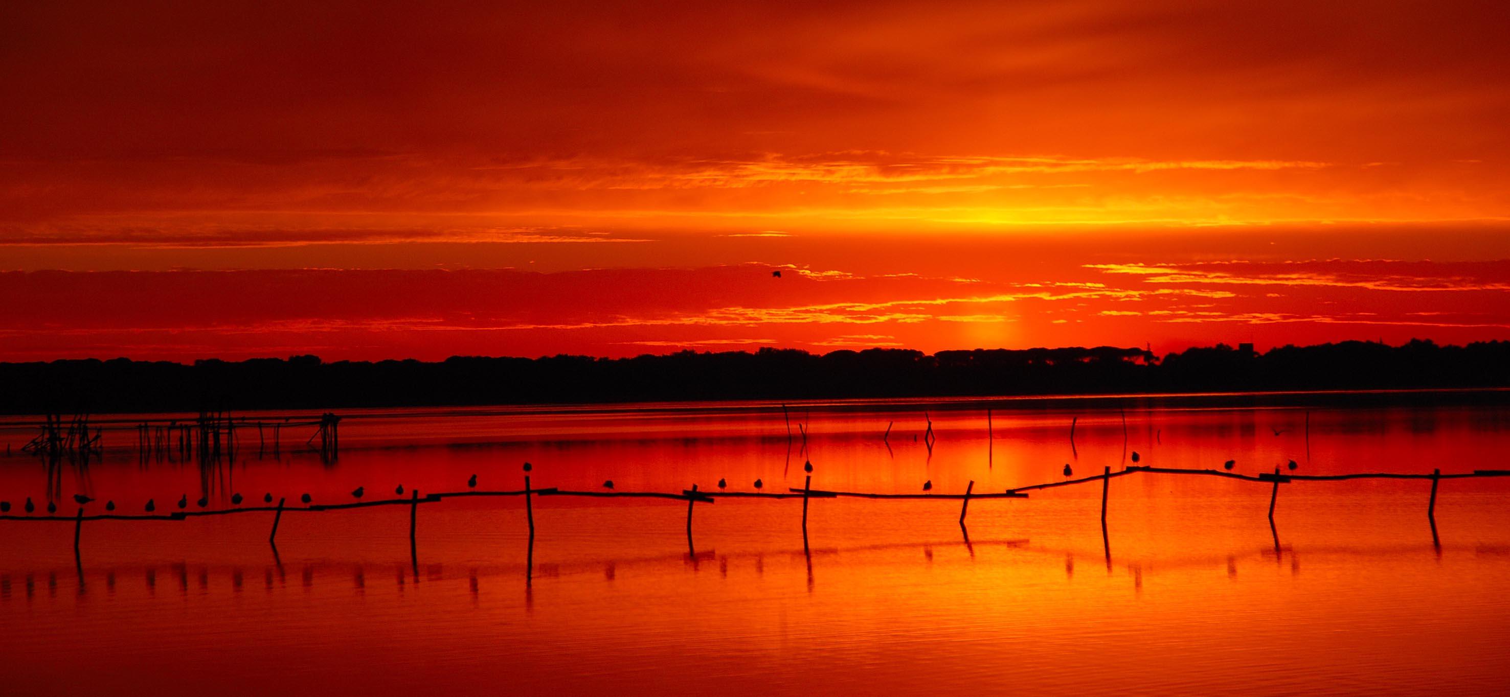 tramonto lago_rid